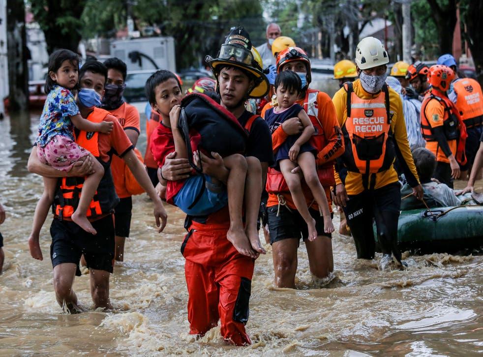 APTOPIX Philippines Asia Typhoon