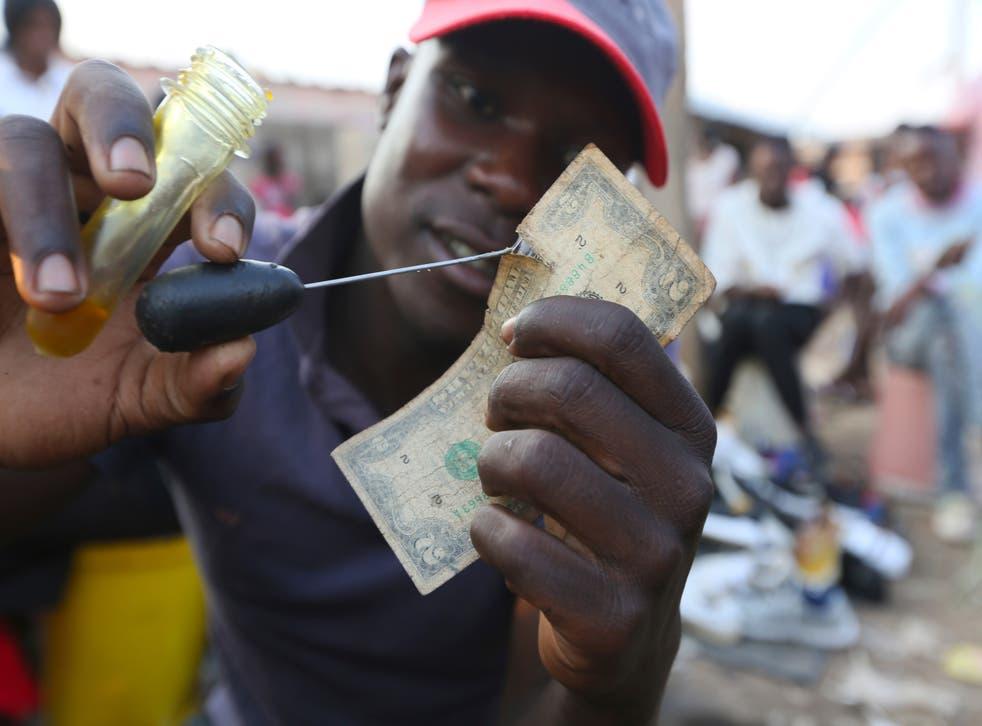 Zimbabwe Mending Dollars