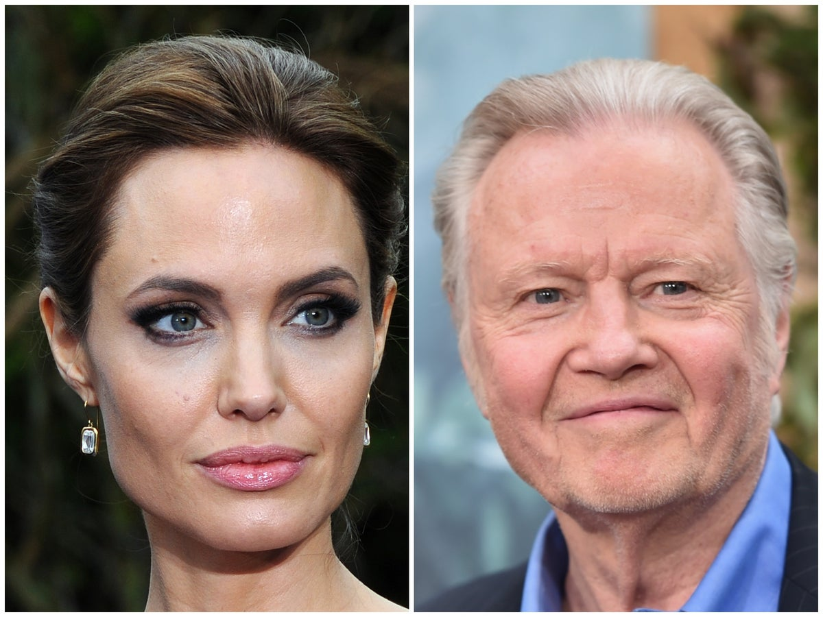 Jon Voight What Does Angelina Jolie Think Of Her Father S Political Views The Independent