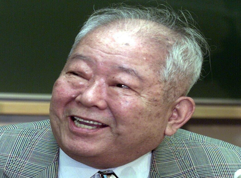 Japan Obit Nobel Physicist Koshiba
