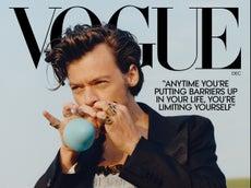 Harry Styles, el primer hombre en aparecer en la portada de Vogue