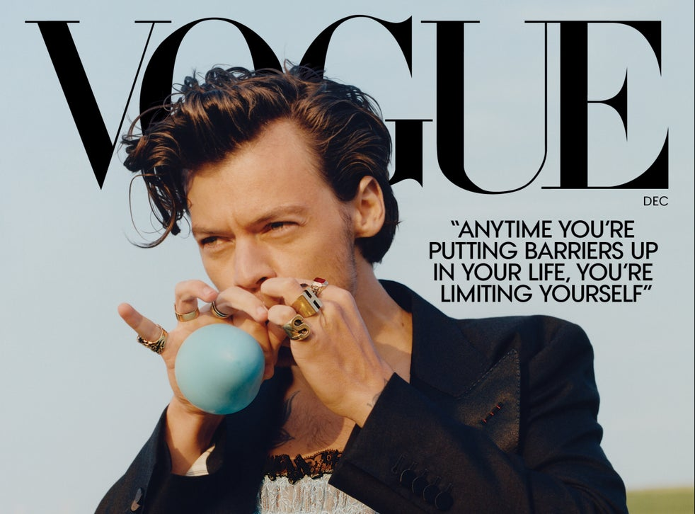 The Best Harry Styles Vogue Photos