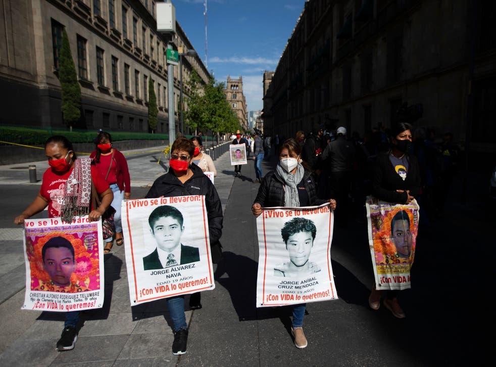 MEXICO-ESTUDIANTES DESAPARECIDOS