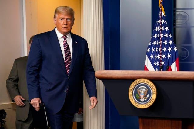 <p>Trump logró mantener el estado para los republicanos</p>
