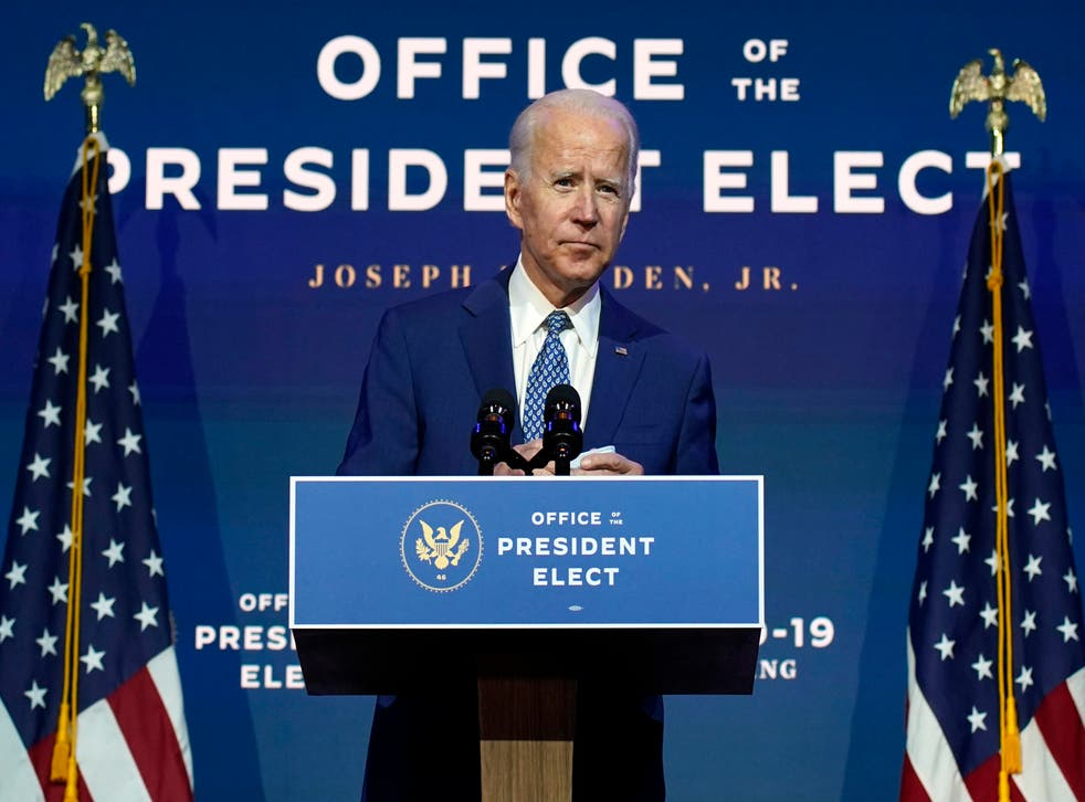 <p>Biden ha pedido a los estadounidenses usar una mascarilla para reducir la transmisión del virus SARS-CoV-2</p>