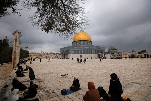 Israel-Emirates-Palestinians Torn