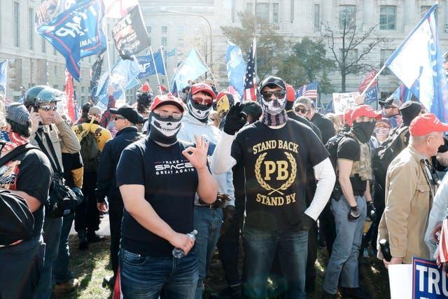<p>Los partidarios de este movimiento han protestado en diversas ocasiones en DC y han mostrado su apoyo a Trump</p>