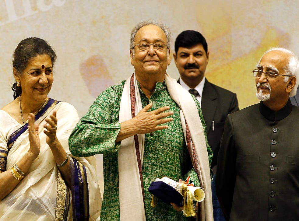 India Obit Soumitra Chatterjee