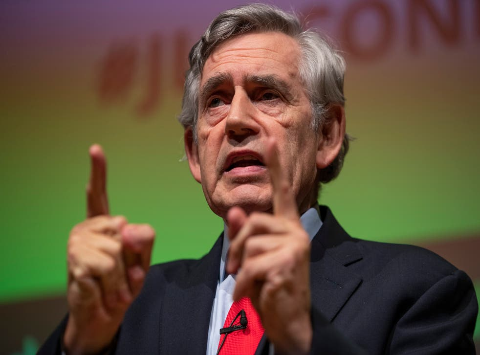 <p>Gordon Brown calls for extension in increase of universal credit payments</p>