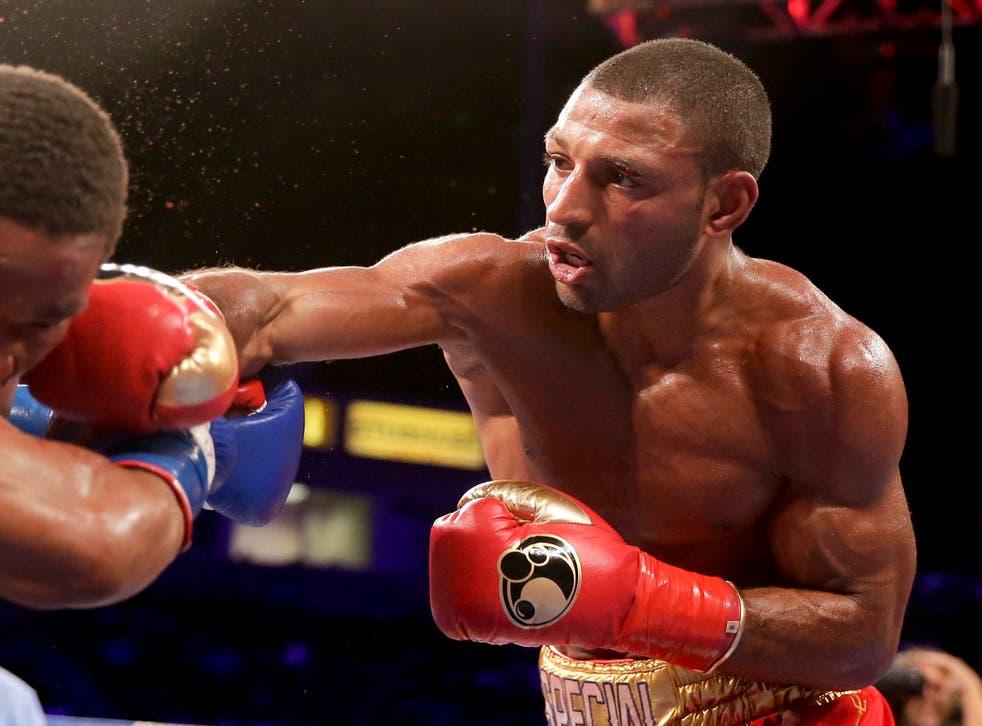 Kell Brook lost to Terence Crawford in Las Vegas