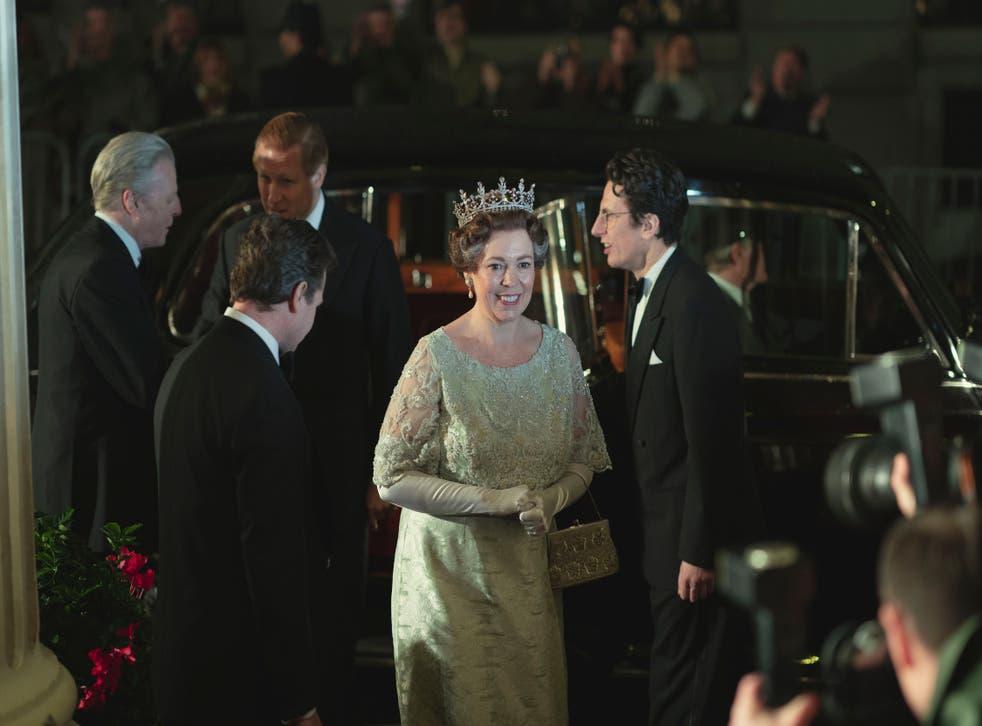 <p>The Crown, serie de Netflix</p>