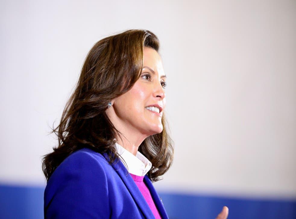 <p>Gretchen Whitmer, gobernadora de Michigan</p>