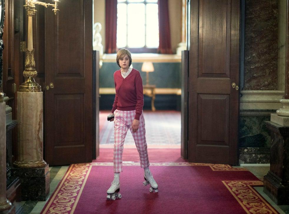 pPrincess Diana at Buckingham Palace, filmed at Goldsmiths Hall/p