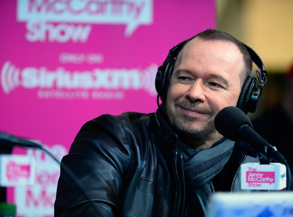 <p>Donnie Wahlberg.</p>