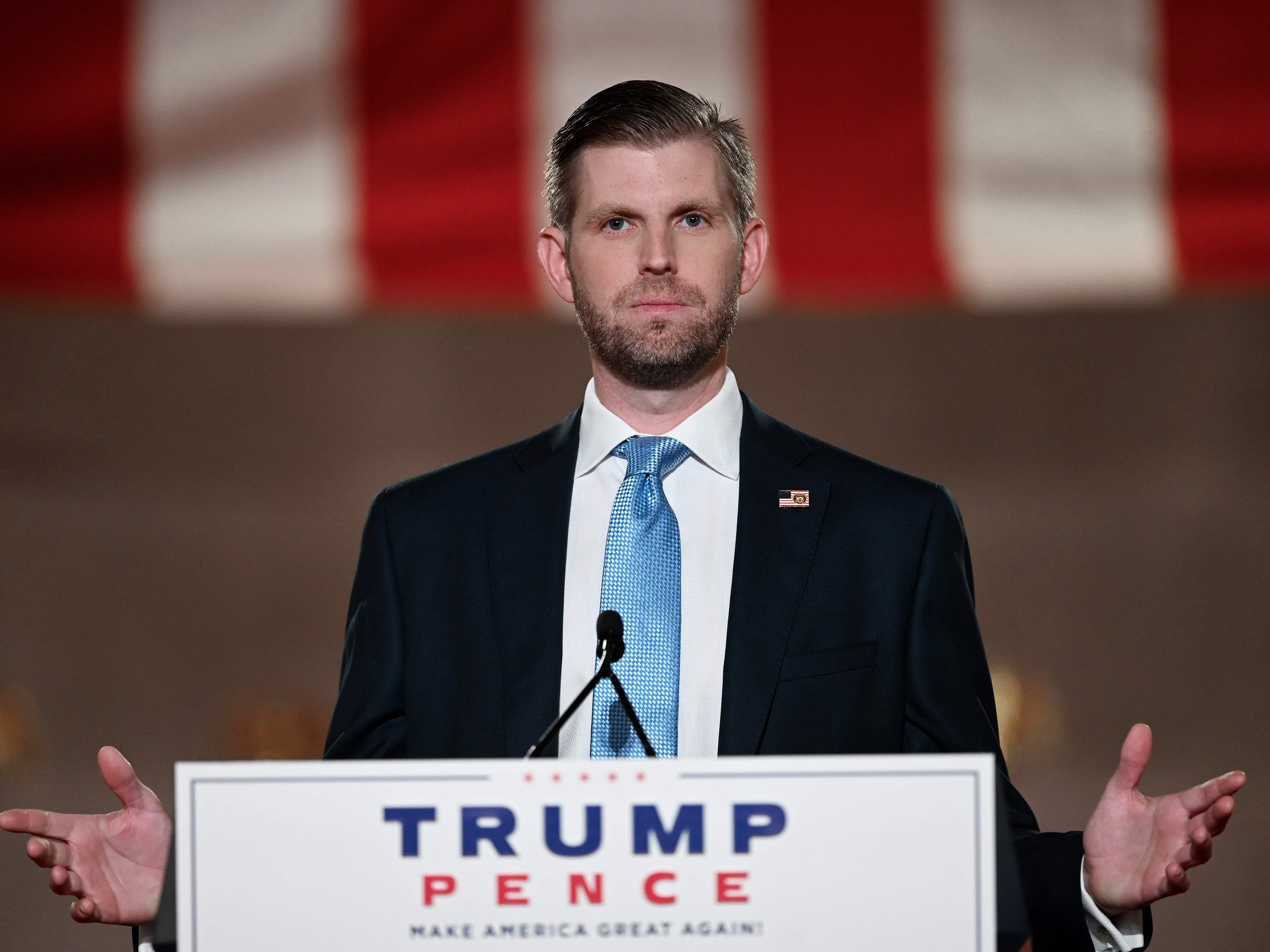 Eric Trump tried to discredit the election result yet again and it backfired spectacularly