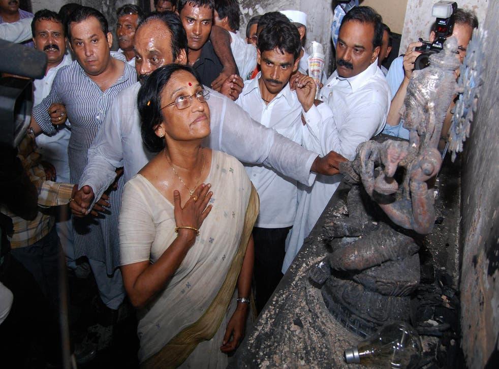 File image: Rita Bahuguna Joshi is a senior politician from the northern state of Uttar Pradesh