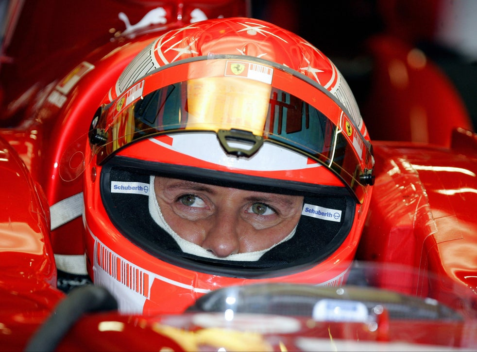 Michael Schumacher Following Son S Career As F1 Legend Continues To Fight In Recovery The Independent