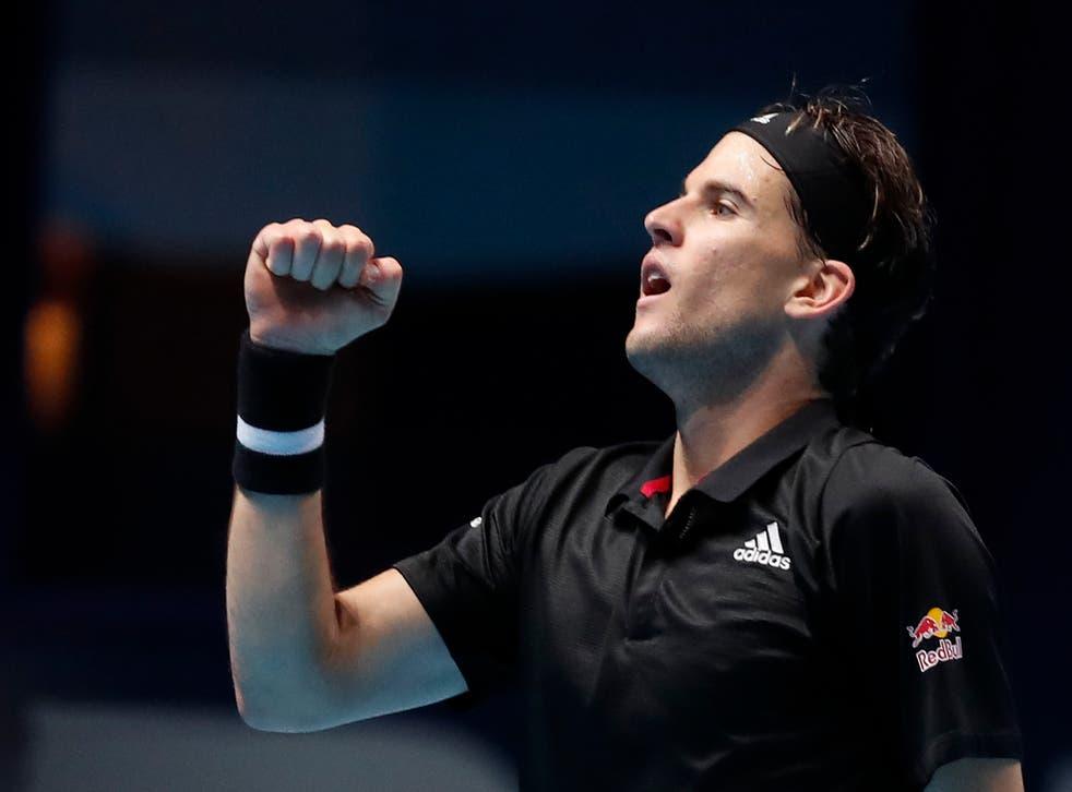 <p>Thiem se logró imponer en los tiebreaks para llevarse su segundo triunfo del torneo</p>