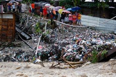 Huracán Iota azota Nicaragua y Honduras el tras paso de Eta