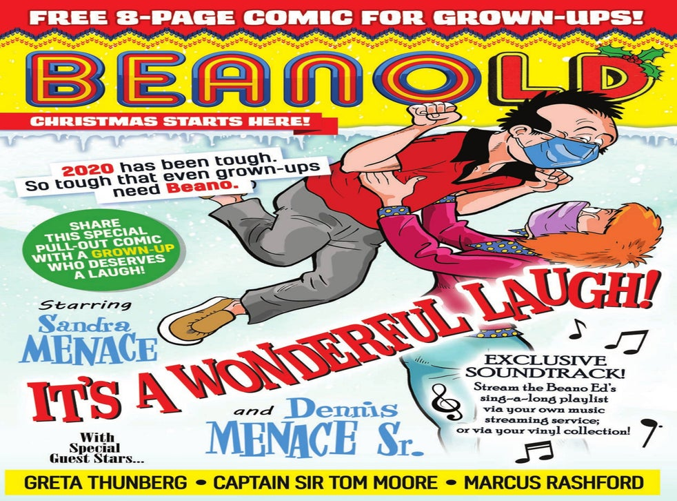 <p>The front page of the BeanOLD, published this week</p>