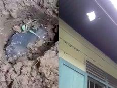 Un meteorito cae en el techo una casa y el dueño se vuelve millonario