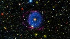 Científicos resuelven misterio del anillo azul brillante en el espacio luego de 16 años