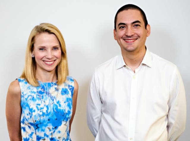 <p>Marissa Mayer back in Silicon Valley spotlight with the launch of her first start-up company, Sunshine, since leaving Yahoo.</p>