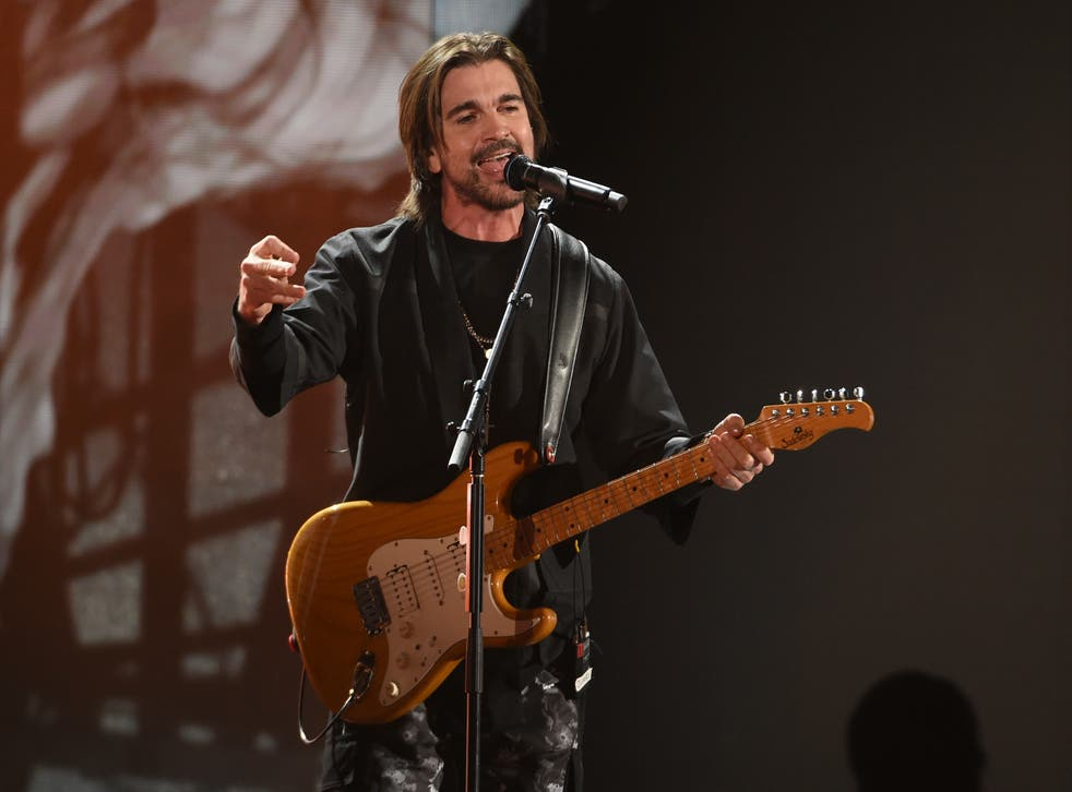 <p>Juanes was excited to rehearse with a live band, something rare in these pandemic months.&nbsp;</p>