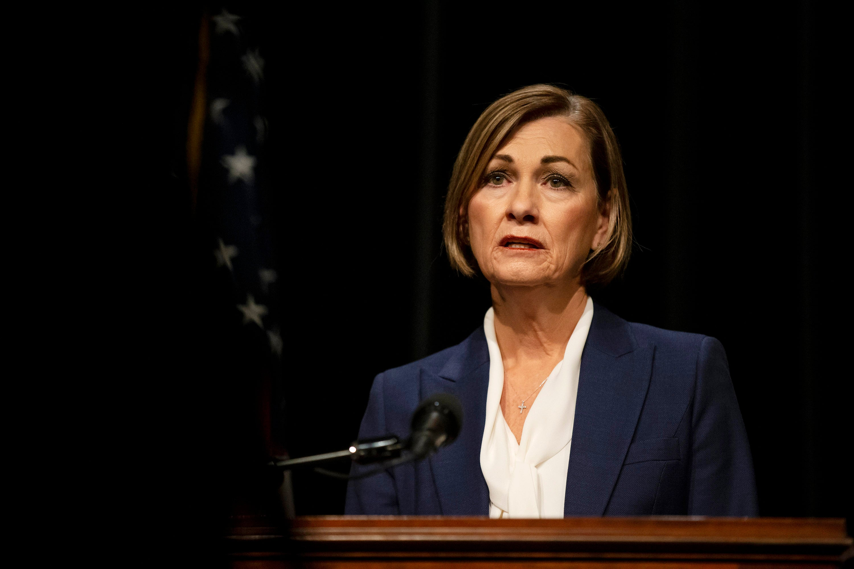 Some GOP governors shift on mask mandates as hospitals fill governors governors Iowa governor kim reynolds