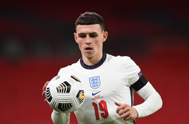 Phil Foden scored twice as England defeated Iceland 4-0