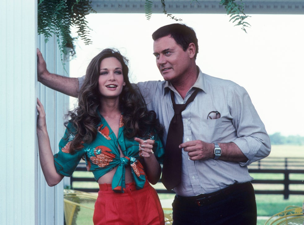Hagman and Mary Crosby, who played JR's sister-in-law Kristin