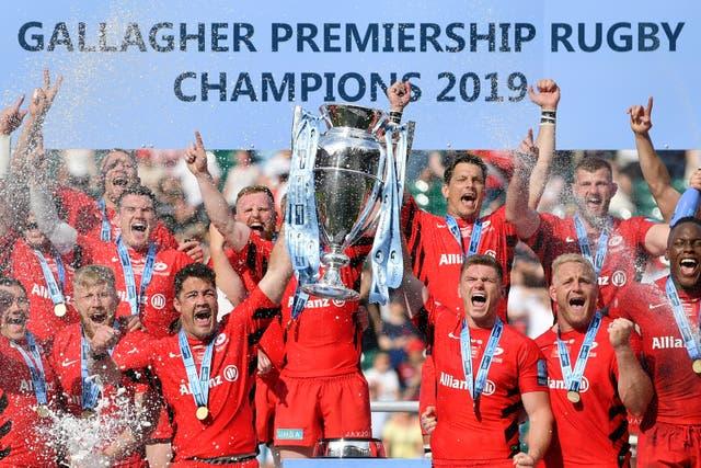 Saracens were relegated for breaching Premiership salary cap regulations