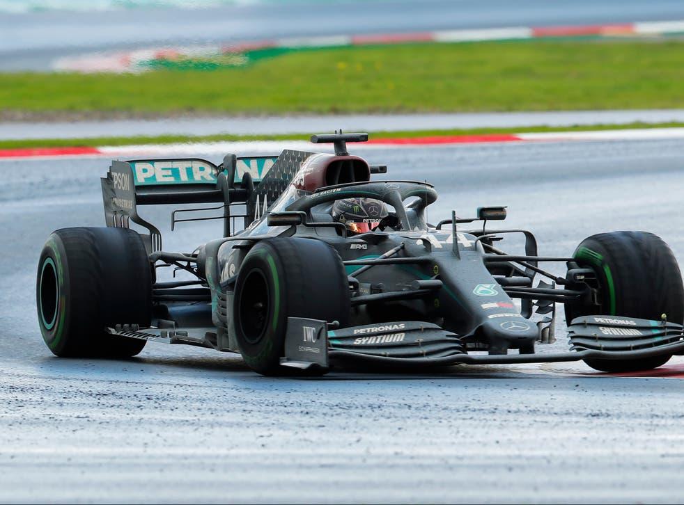 <p>Hamilton buscará alargar su récord de triunfos este fin de semana</p>