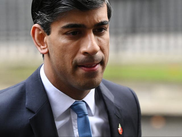 <p>Chancellor Rishi Sunak is expected to cut pay and aid</p>