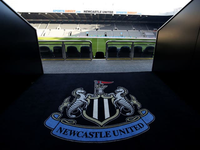 A general view of Newcastle United's St James Park