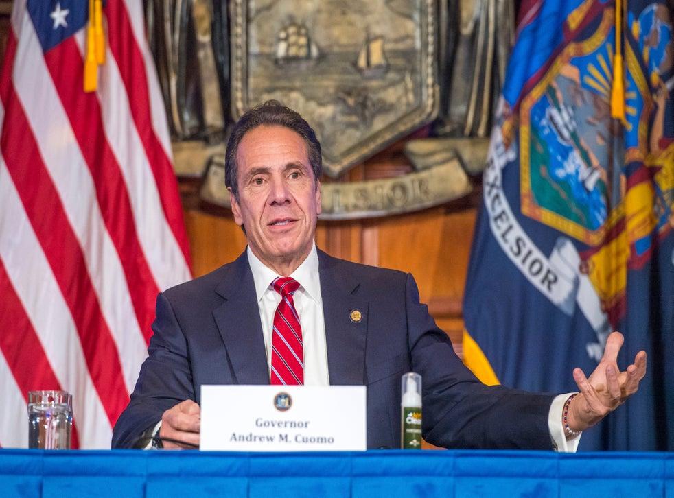 <p>Cuomo fue criticado por algunas de sus medidas durante el pico de la pandemia en Nueva York</p>
