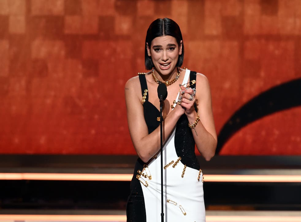Dua Lipa Grammy Nominations 2021 The Independent
