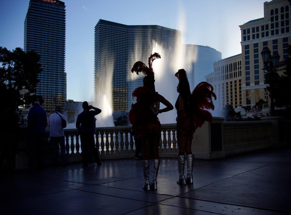 <p>Presión de las Vegas por el brote de coronavirus.</p>