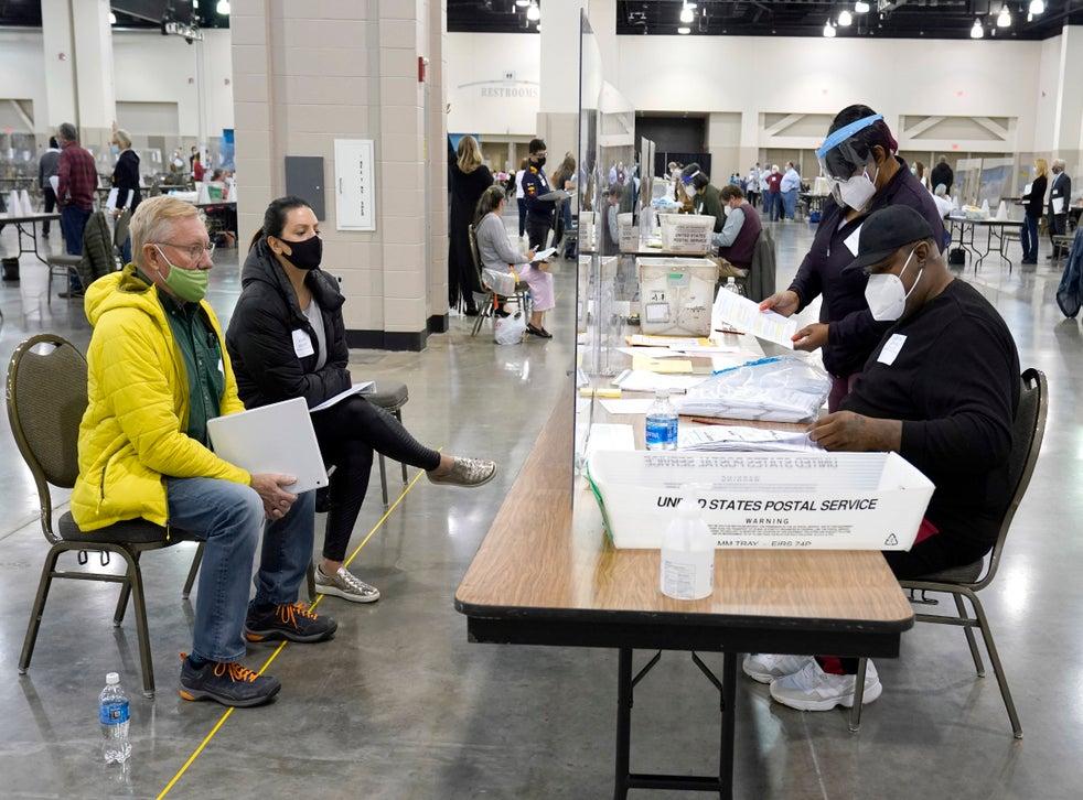 <p>Elecciones 2020: Recuento en Wisconsin.</p>