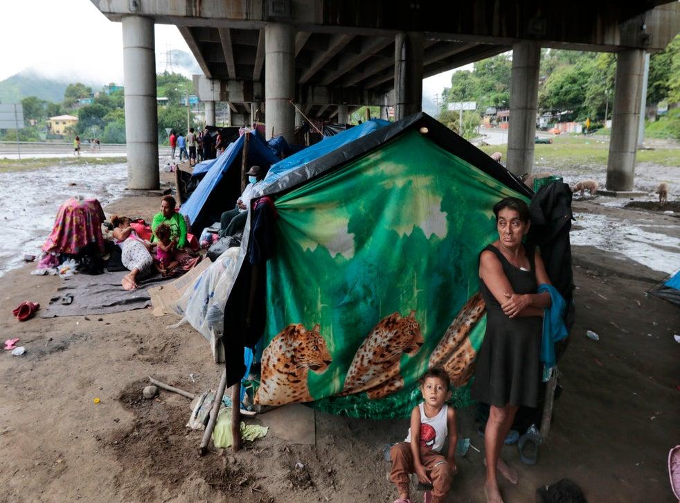 Honduras víctimas del huracán