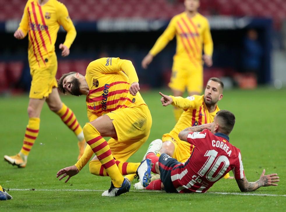 <p>Los Blaugranas confirmaron la severidad de la lesión de Piqué</p>