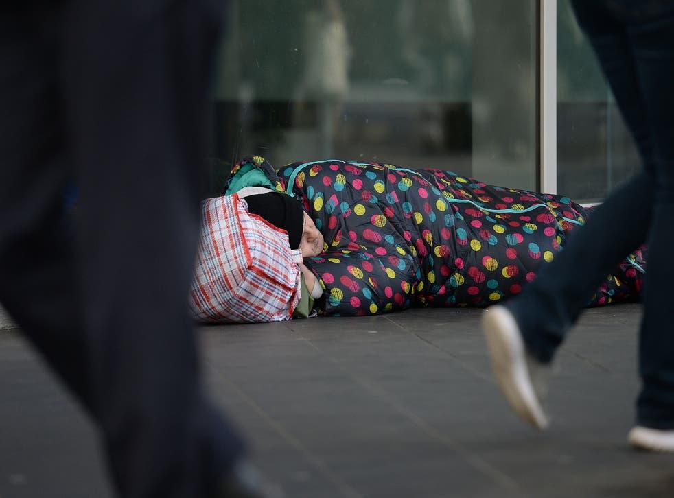 Un vagabundo en Londres