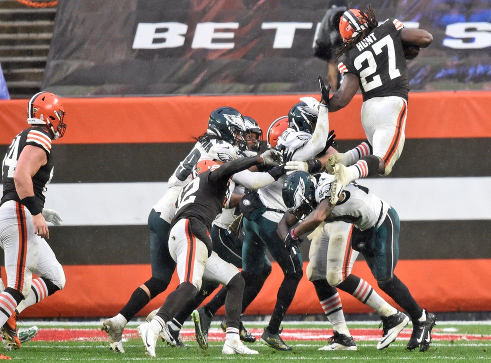 EAGLES BROWNS