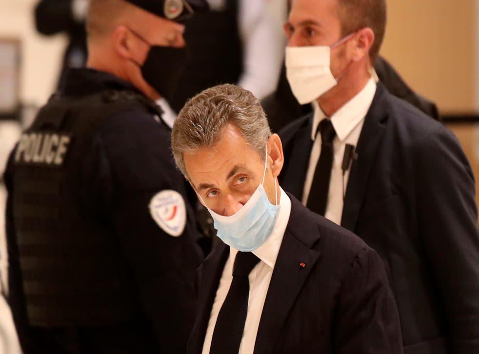<p>Sarkozy ha sido objeto de diversas investigaciones desde que terminó su periodo como presidente</p>