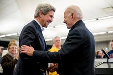 Republicans attack appointment of John Kerry as Biden climate envoy as he vows to get Paris deal back on track