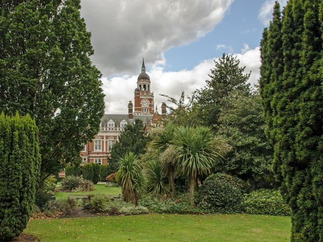 Croydon offers green spaces beneath the grey image