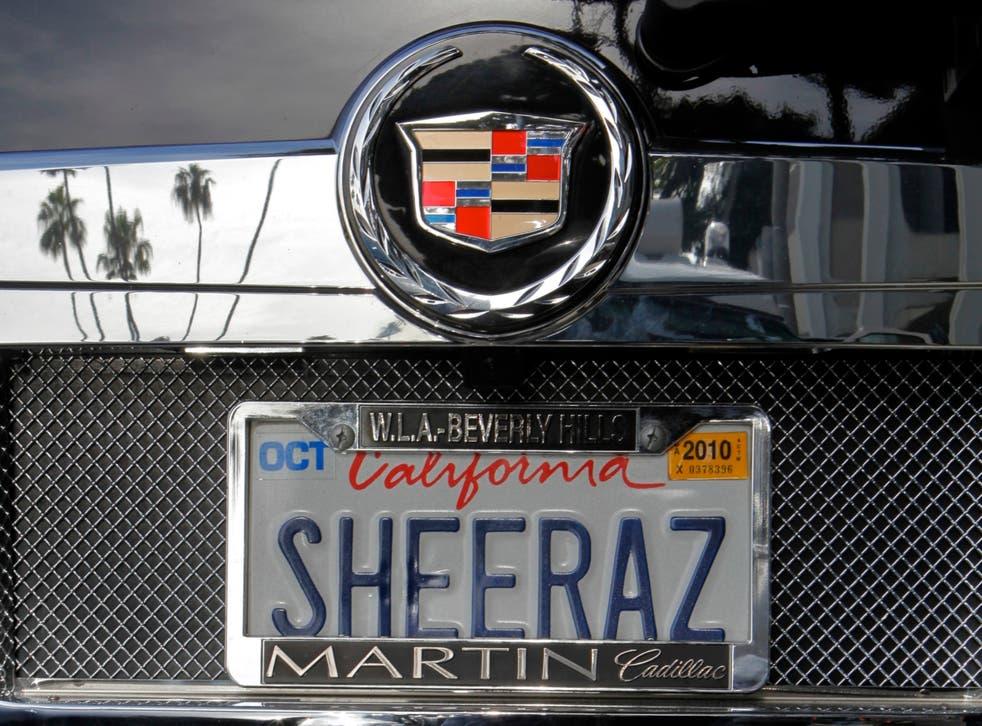Vanity License Plate Lawsuit