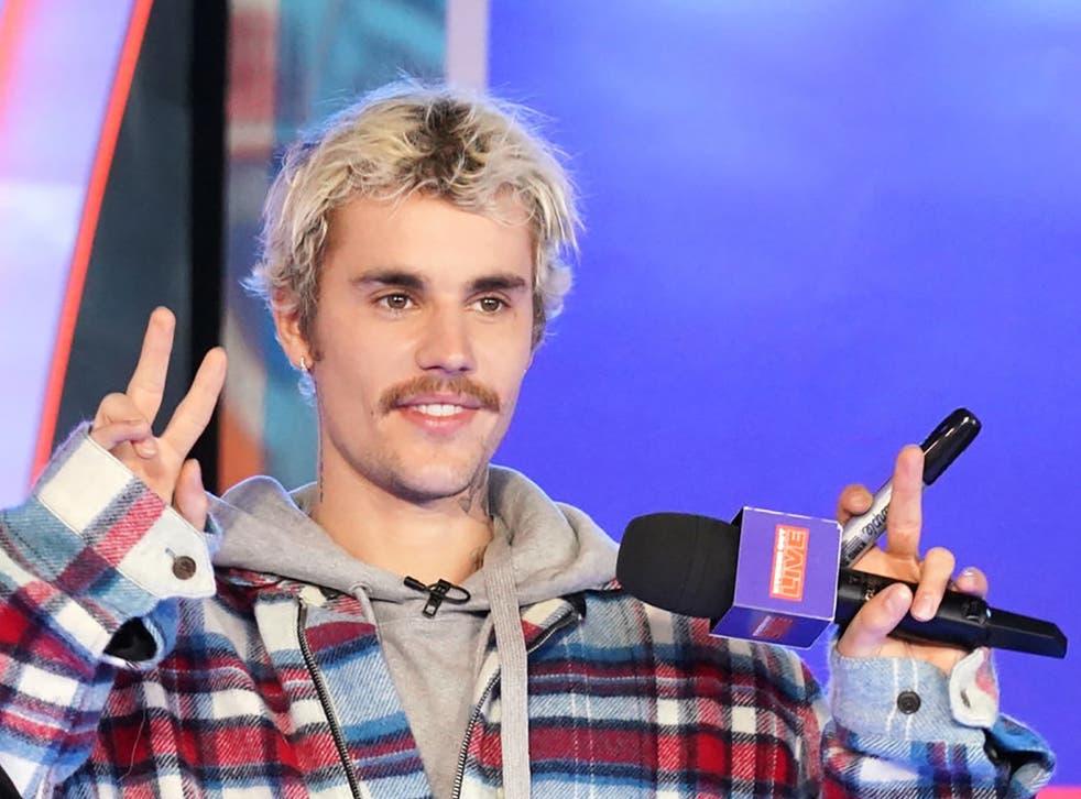 Justin Bieber in February