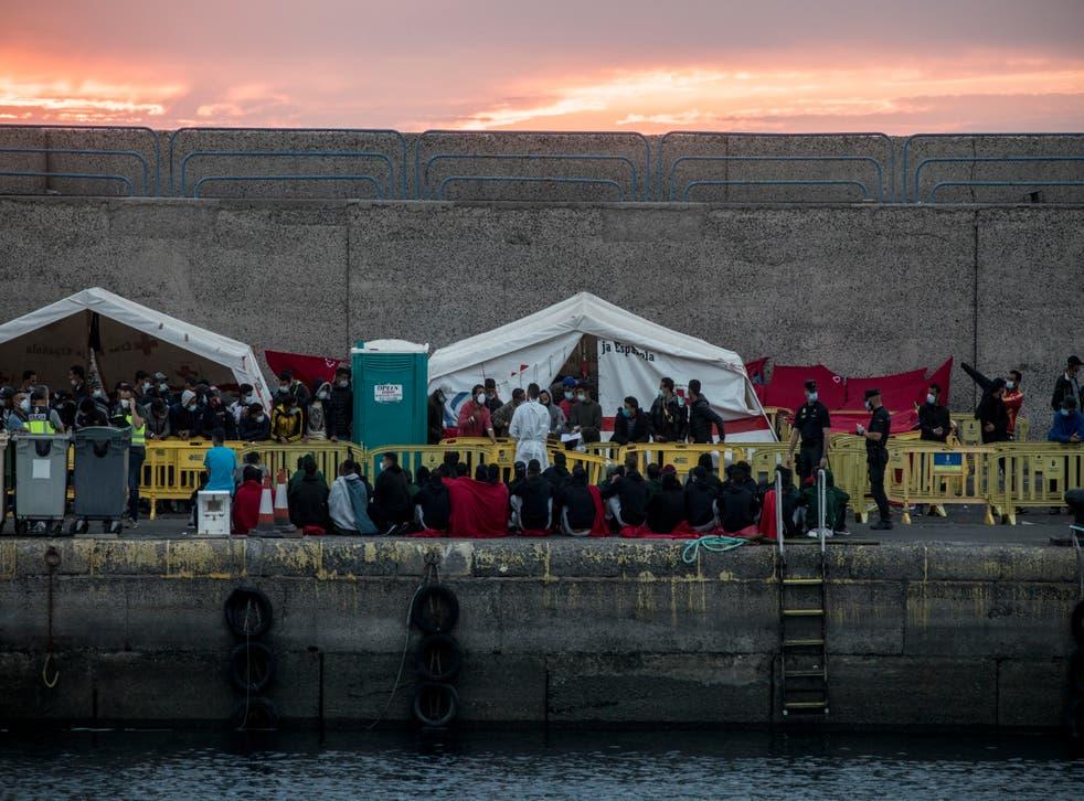 APTOPIX Spain Europe Migrants