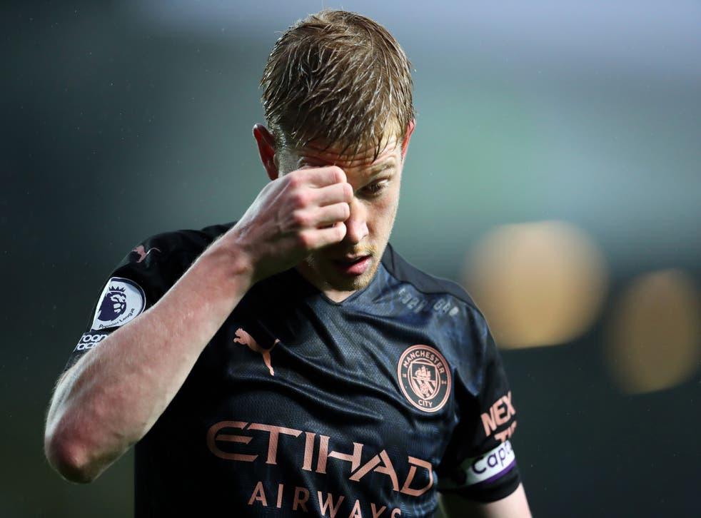 El centrocampista del Manchester City Kevin De Bruyne